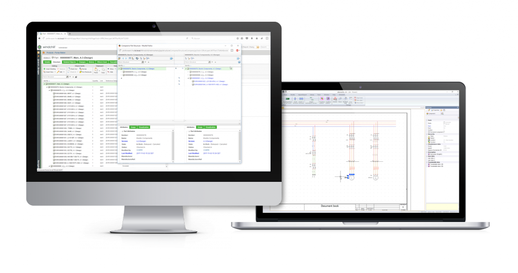 screens elecworks for ptc windchill