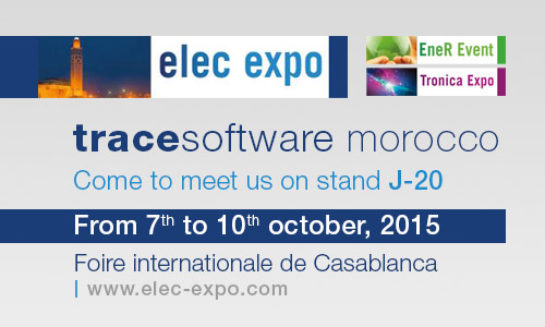 Trace Software at Elec Expo 2015