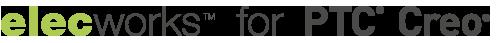 Logo elecworks for PTC Creo
