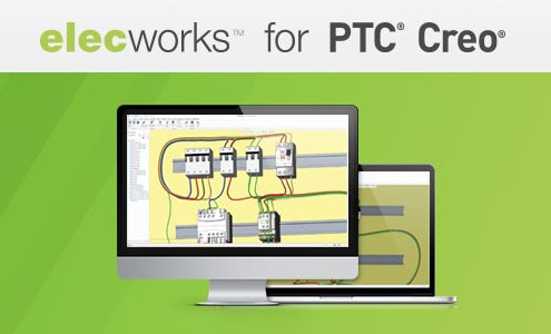 elecworks for ptc creo for an electrical design 3D