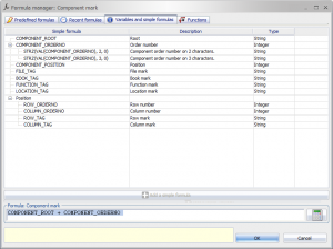 elecworks2016 SP4 new variables in numbering formulas customization