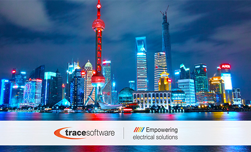 The successfull conquests of the Chinese Team of Trace Software International