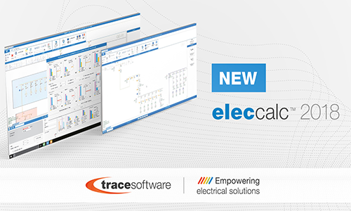 Trace Software International introduces elec calc ™ 2018