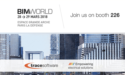 Trace Software International will participate at BIM WORLD in Paris