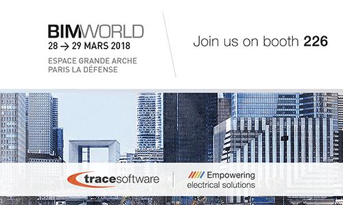 Trace Software International will participate at BIM WORLD in Paris