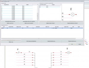 wire cabling order Trace Software International