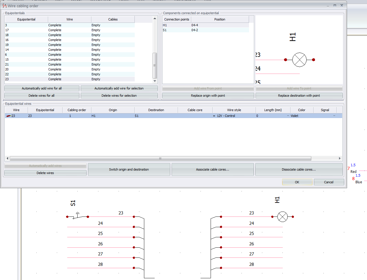 How is it possible to handle bus wires in elecworks™?   Trace Software