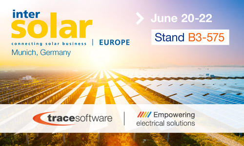 Trace Software International confirms participation in Intersolar
