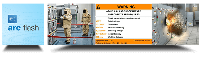 The elec calc™ arc flash module by Trace Software International