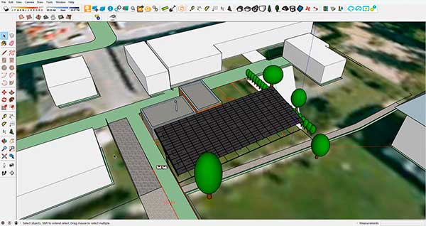archelios visualize pv projects in 3D