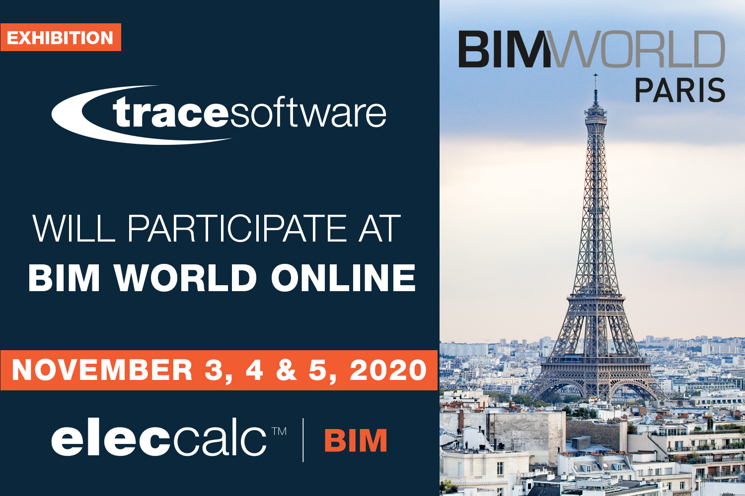 Trace Software participate at BIM World