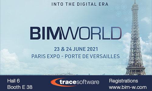 Trace Software - Bim world PARIS 2021